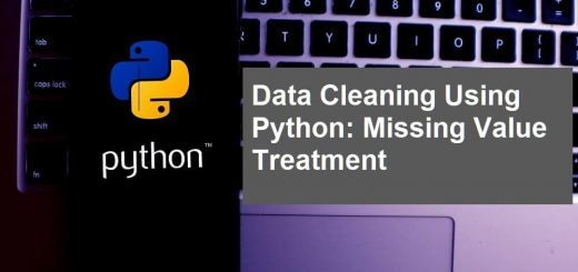 Data Cleaning Using Python Missing Value Treatment