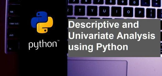 Descriptive and Univariate Analysis using Python